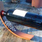 Íves,pácolt, egyensúly bortartó szölö mintával