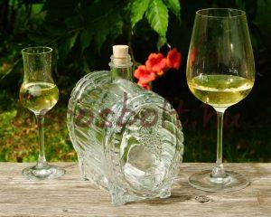 Pálinkás Boros Whiskys Üveghordó 1,5 Literes