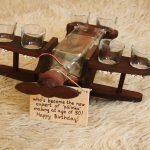 Repülös Pálinkás Készlet (Pálinkás Üveg+6 Pohár)