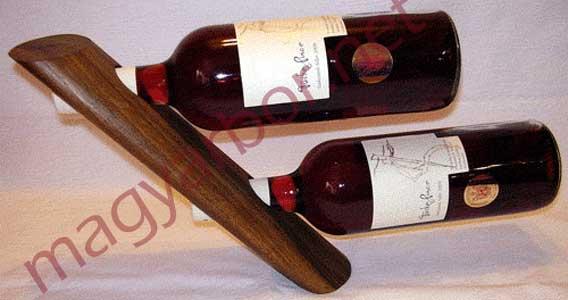 Egyensúly bortartó 2 bornak