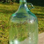 5 Literes Csapos Üveg Ballon Gravírozással is