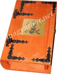 Kódex Fadoboz 2 bornak Egyedi Gravírozással