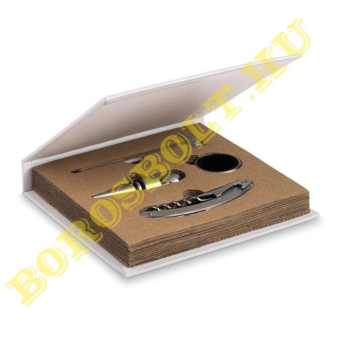 4 db-os Boros Készlet Könyv alakú Dobozban