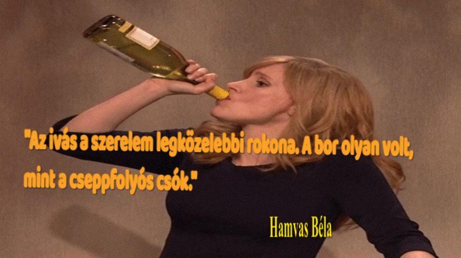 Az ivás a szerelem legközelebbi rokona
