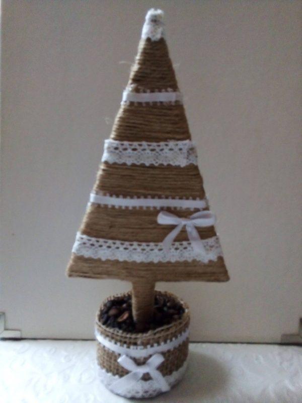 Asztali dísz - karácsonyi dekoráció